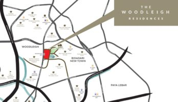The Woodleigh Residences Location Map Singapore
