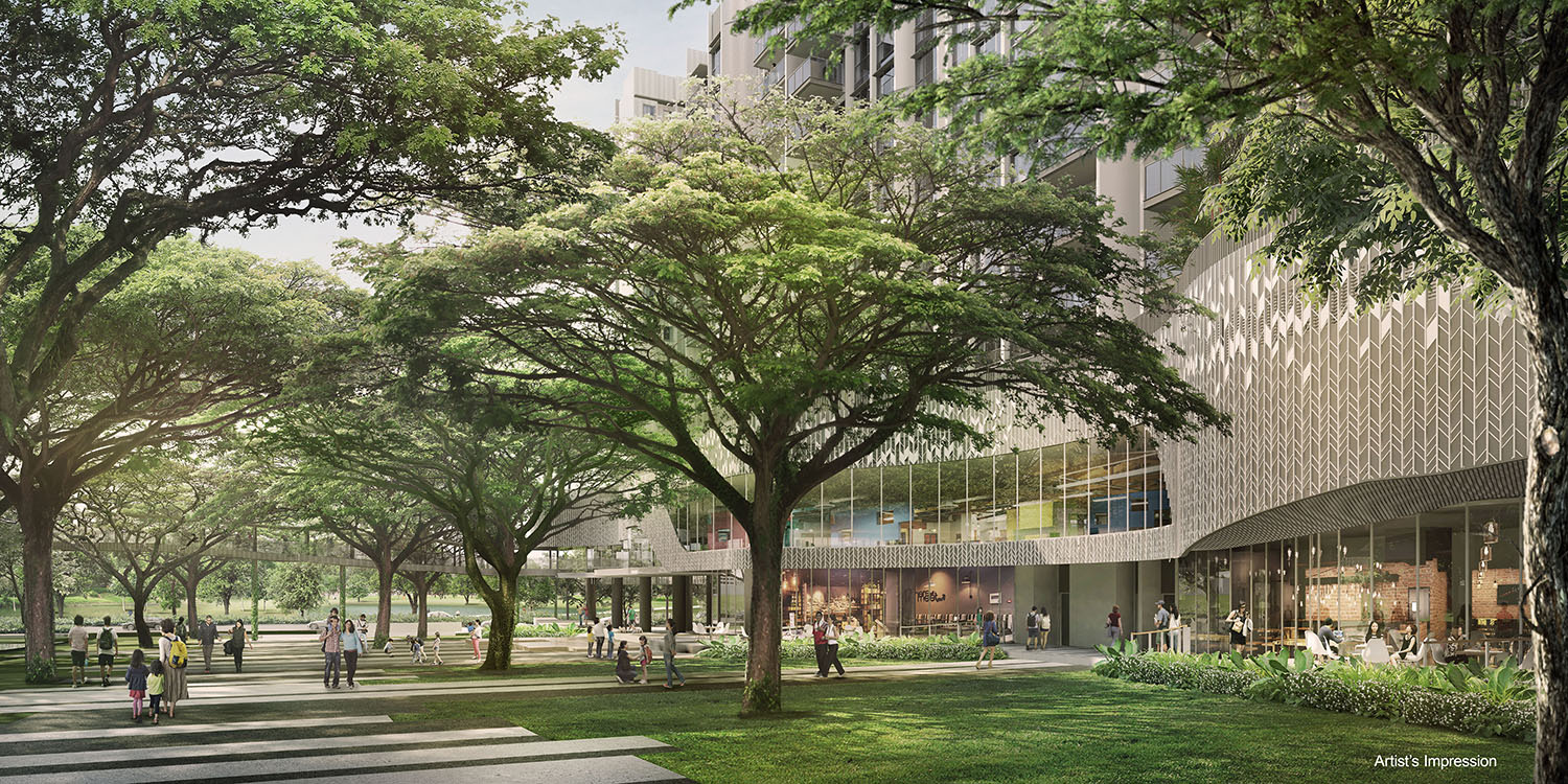 The Woodleigh Residences Heritage Walk Singapore