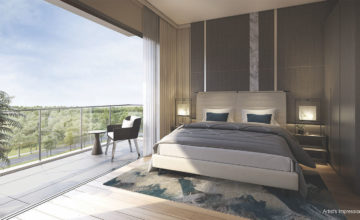 The Woodleigh Residences Master Bedroom Singapore