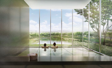 The Woodleigh Residences Onsen Pool Singapore