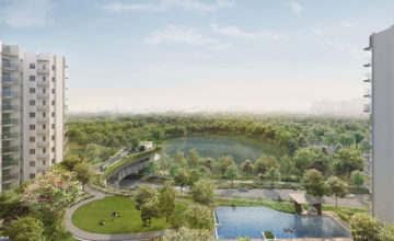 The Woodleigh Residences Semi Aerial Singapore