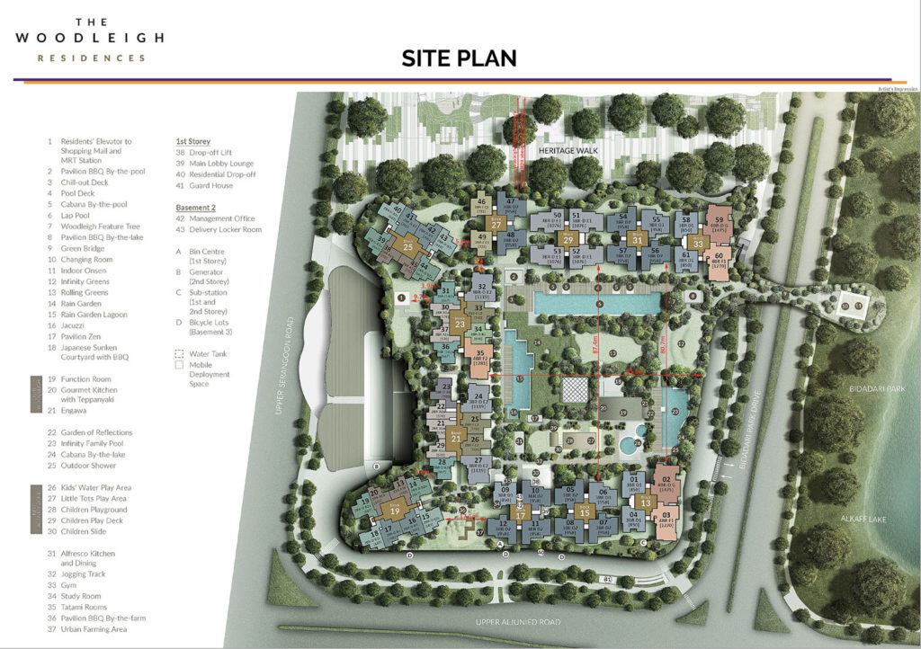 The Woodleigh Residences Site Plan Singapore