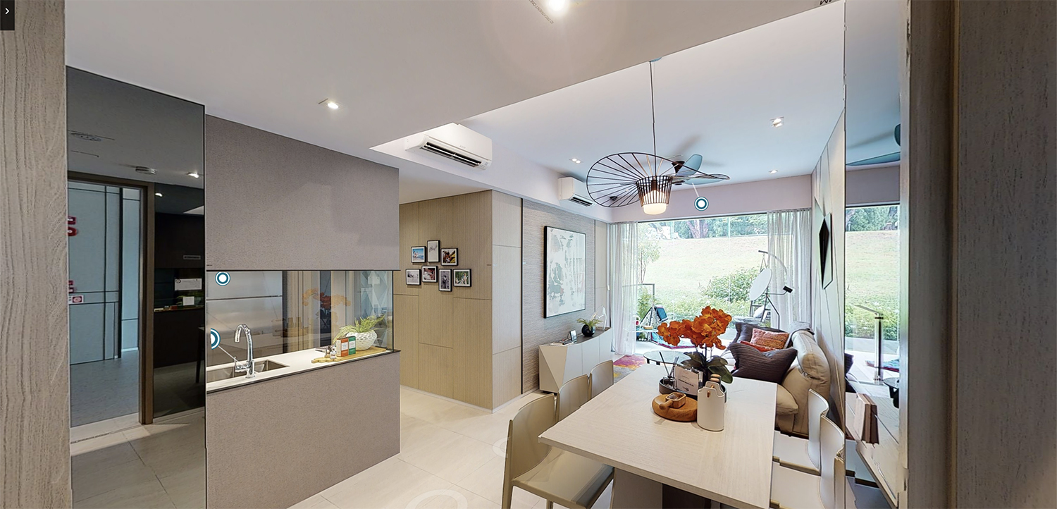 The Woodleigh Residence 360° Showflat Virtual Tour Singapore