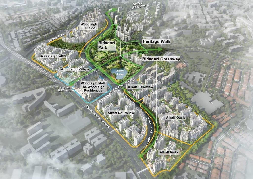 Bidadari Estate Plan Singapore
