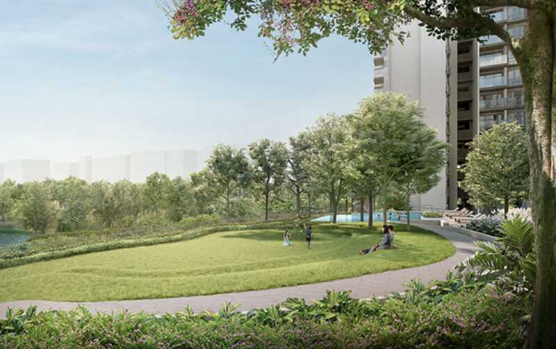 The Woodleigh Residences - Infinity Garden