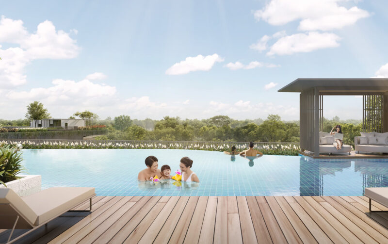 The Woodleigh Residences - Infinity Family Pool