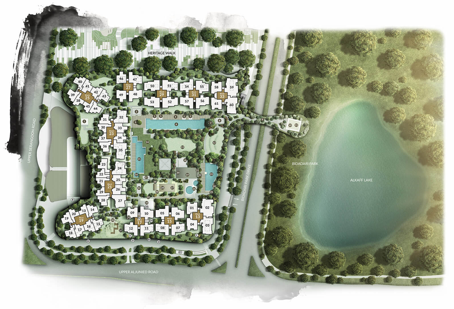 The Woodleigh Residences Site Plan 2 Singapore