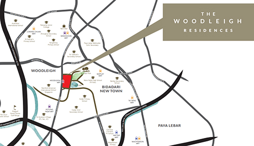 The Woodleigh Residences Location Map Thumbnail